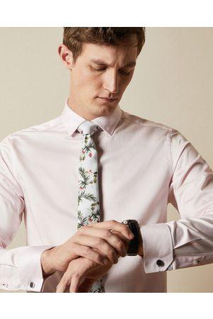 Ted Baker Men Neckties - Floral Print Silk Tie