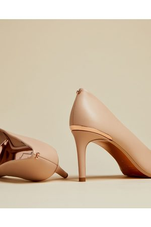 Ted Baker Pointed Toe Leather Court Shoes