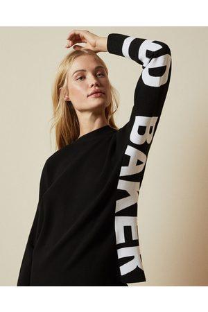 Ted Baker Branded Logo Sweater