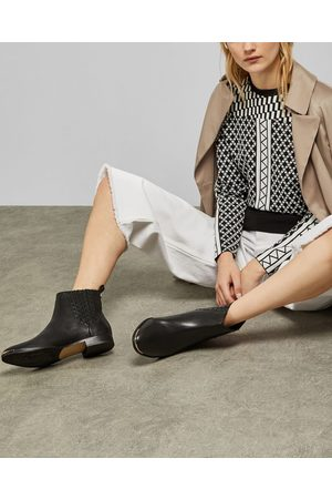 Ted Baker Flat Leather Ankle Boot