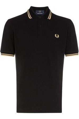 FRED PERRY Men Polo Shirts - Stripe-trimmed polo shirt