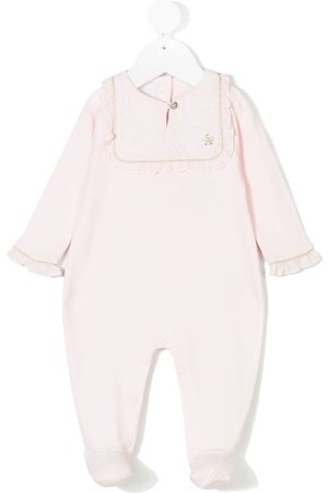Tartine Et Chocolat Pajamas - Ruffled bib collar pyjama