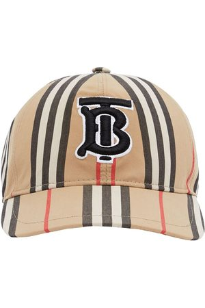 Burberry Men Caps - Monogram motif baseball cap - Neutrals