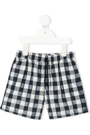 Tartine Et Chocolat Terre Exotique checkered swim shorts