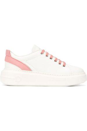Salvatore Ferragamo Gancini lace-up sneakers