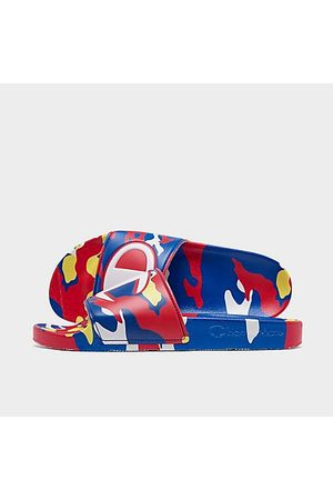 Champion Men's IPO Camo Slide Sandals in / Size 8.0