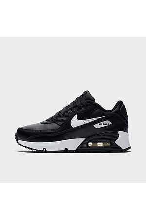 Nike Boys' Little Kids' Air Max 90 Casual Shoes in / Size 1.0 Leather