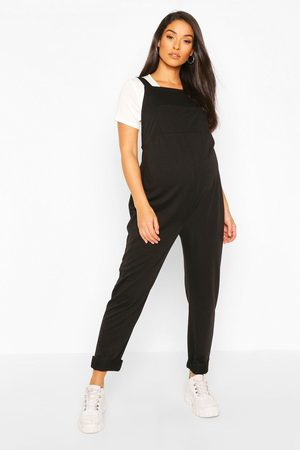 Boohoo Womens Maternity Pocket Detail Pinafore Dungaree - - 4
