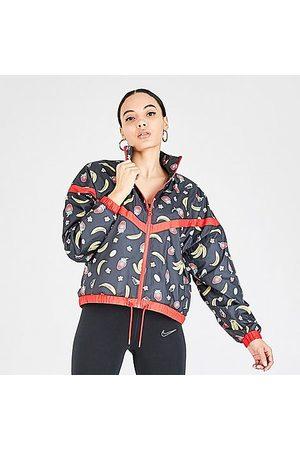 Nike Women's Sportswear Woven Printed Jacket in