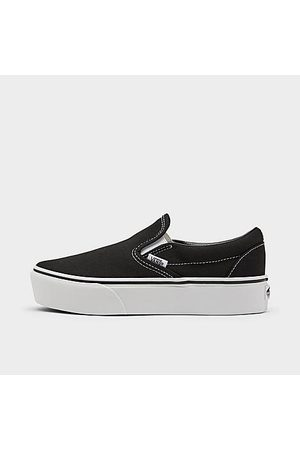 Vans Women's Classic Slip-On Platform Casual Shoes in