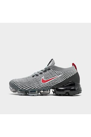 Nike Men's Air VaporMax Flyknit 3 Running Shoes in Grey