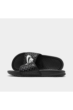 Nike Women's Benassi JDI Swoosh Slide Sandals in