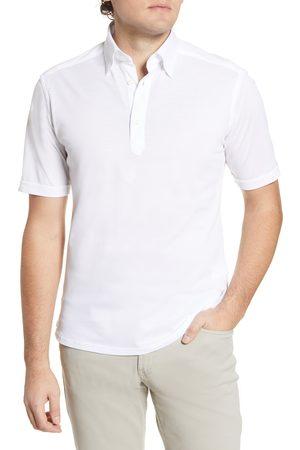 Eton Men Polo Shirts - Men's Trim Fit Cotton Polo Shirt