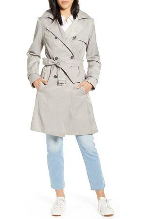 Cole Haan Women's Hooded Trench Coat