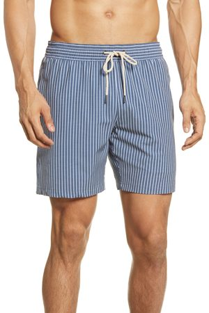 Fair Harbor Men's Bayberry Stripe Swim Trunks