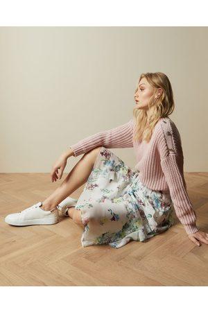 Ted Baker Pergola Printed Midi Skirt