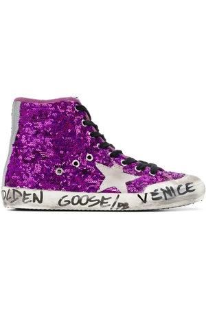 Golden Goose Women Sneakers - Sequined Venice sneakers