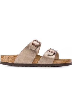 Birkenstock Sydney buckled sandals - Metallic