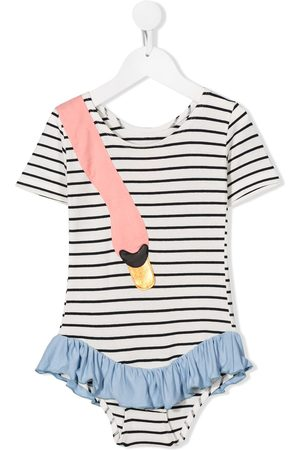 Wauw Capow Ebba striped gymsuit