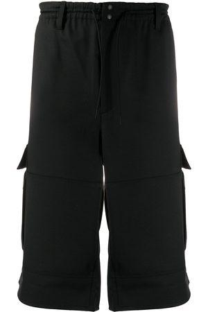 Y-3 Wide leg cargo shorts