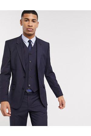 ASOS Slim suit jacket in navy
