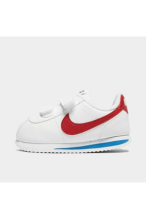 Nike Boys' Toddler Cortez Basic SL Hook-and-Loop Casual Shoes in Size 7.0 Leather
