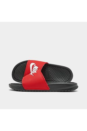Nike Men's Benassi JDI Slide Sandals in Size 8.0 Leather