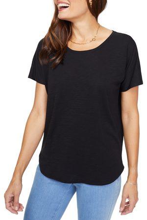 NYDJ Women's Everyday Short Sleeve Cotton T-Shirt