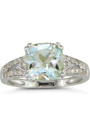 SuperJeweler Women Rings - 2 3/4 Carat Diamond & Amethyst Ring