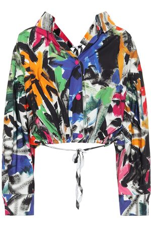 Marni Floral cotton jacket