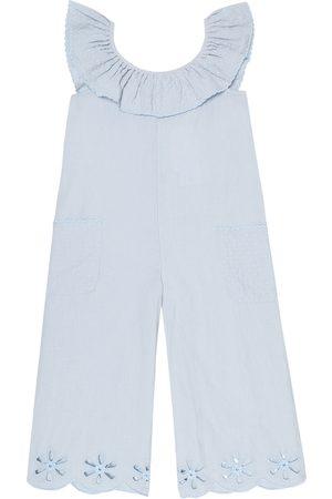 Stella McCartney Linen-blend jumpsuit