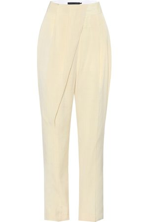 Proenza Schouler High-rise slim twill pants