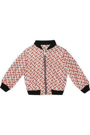 Burberry Monogram bomber jacket