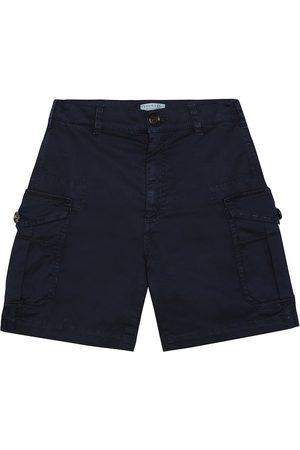 Brunello Cucinelli Stretch-cotton cargo shorts