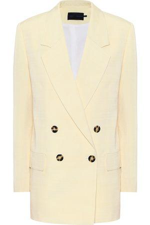 Proenza Schouler Double-breasted twill blazer