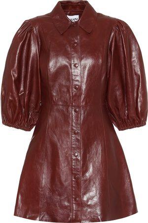 Ganni Leather minidress