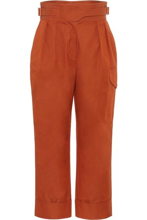 See by Chloé Women Cargo Pants - High-rise cotton cargo pants