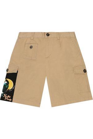 Dolce & Gabbana Stretch-cotton cargo shorts