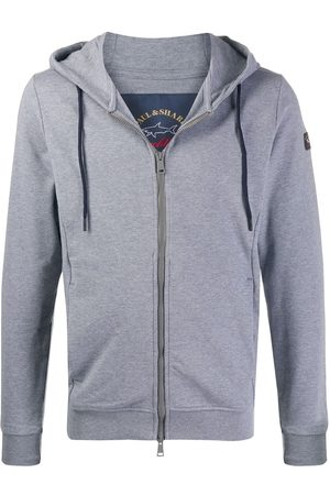 Paul & Shark Drawstring hoodie - Grey