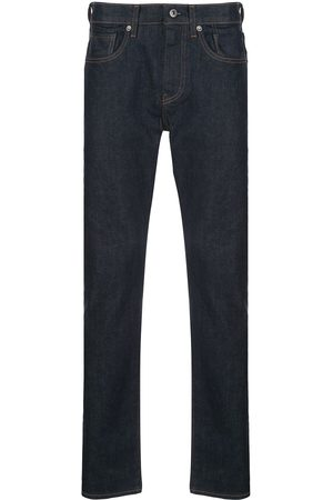 Levi's 502 mid-rise tapered-leg jeans