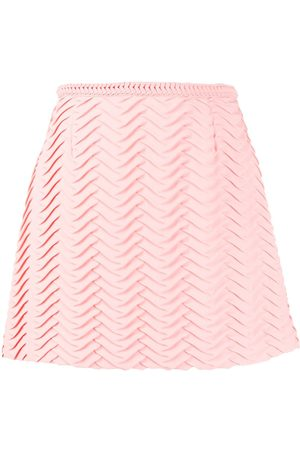 MARCO DE VINCENZO Textured A-line skirt