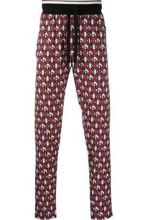 Dolce & Gabbana DG Logo print track pants
