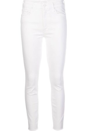 Mother Mid-rise slim-fit jeans