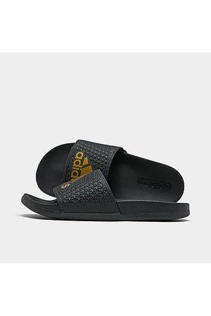 adidas Girls' Big Kids' Adilette Comfort Slide Sandals in Size 4.0