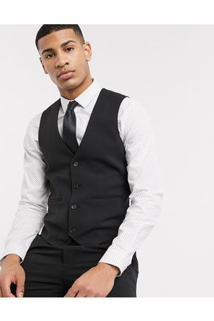 ASOS Super skinny suit suit vest in four way stretch in