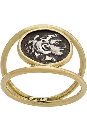 Dubini Women Rings - Alexander the Great Coin 18kt ring - Metallic