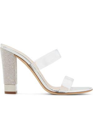 Giuseppe Zanotti Women Sandals - Aurelia embellished-heel sandals