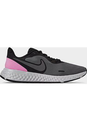 Nike Women Running - Women's Revolution 5 Running Shoes in Grey Size 7.5 Knit