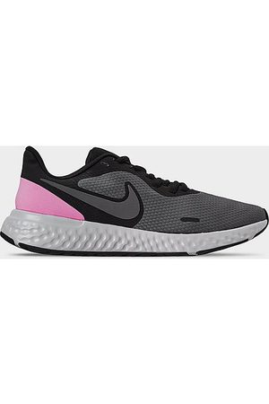 Nike Women Running - Women's Revolution 5 Running Shoes in Grey Size 8.0 Knit