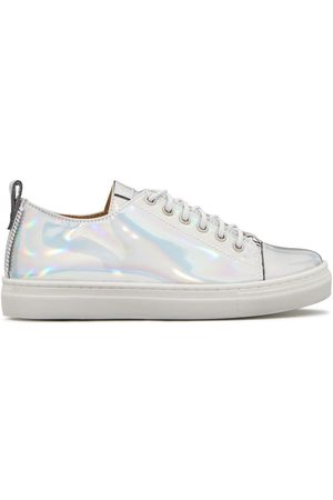 Giuseppe Zanotti Low top holographic sneakers